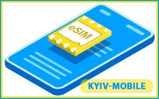 ESim Kyivstar Украина – симка нового поколения